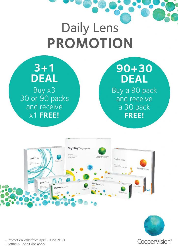 1Day Promotion – Consumer – April + May + June 2021